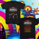 HITS THE ZOMBIES ODESSEY & ORACLE 50TH ANNIV TOUR 2017 BLACK TEE 2SIDE ASTR 887