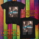 HITS BOZZ SCAGGS & MICHAEL McDONALD TOUR 2017 BLACK TEE'S 2SIDE MAN WOMEN ASTR 990