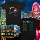 HITS MICHAEL McDONALD & BOZZ SCAGGS TOUR 2017 BLACK TEE'S 2SIDE MAN WOMEN ASTR