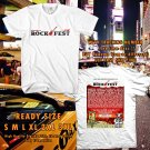 HITS MONTEBELLO ROCK FESTIVAL JUN 2017 WHITE TEE'S 2SIDE MAN WOMEN ASTR 1`12