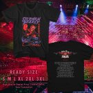 HITS STEPHEN PEARCY USA TOUR 2017 BLACK TEE'S 2SIDE MAN WOMEN ASTR 577