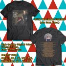 HITS DIANA KRALL UNITED STATES TOUR 2017 BLACK TEE'S 2SIDE MAN WOMEN ASTR