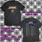 HITS JOURNEY AND ASIA NORTH AMERICA 2017 BLACK TEE'S 2SIDE MAN WOMEN ASTR 332