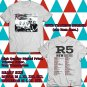 HITS R5 NEW ADDICTIONS NORTH AMERICA TOUR 2017 WHITE TEE'S 2SIDE MAN WOMEN ASTR 776