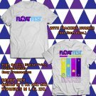 HITS FLOAT FEST JULY 2017 WHITE TEE'S 2SIDE MAN WOMEN ASTR
