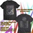 HITS LINKIN PARK ONE MORE LIGHT TOUR 2017 BLACK TEE'S 2SIDE MAN WOMEN ASTR