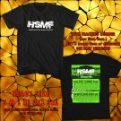 HITS HARD SUMMER MUSIC FESTIVAL SEPT 2017 BLACK TEE'S 2SIDE MAN WOMEN ASTR 665
