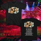 HITS GENTE DE ZONA TOUR 2017 BLACK TEE'S 2SIDE MAN WOMEN ASTR