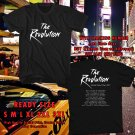 HITS THE REVOLUTION USA TOUR 2017 BLACK TEE'S 2SIDE MAN WOMEN ASTR 556