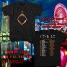 HITS TOVE LO LADY WOOD TOUR 2017 BLACK TEE'S 2SIDE MAN WOMEN ASTR 800