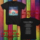 HITS MIDNIGHT OIL THE GREAT CIRCLE WORLD TOUR 2017 BLACK TEE'S 2SIDE MAN WOMEN ASTR 554