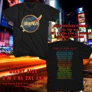 HITS BETWEEN THE BURIED AND ME COLORS TOUR 2017 BLACK TEE'S 2SIDE MAN WOMEN ASTR