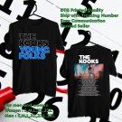 HITS THE KOOKS WORLD TOUR 2017 YOUNG FOLKS BLACK TEE'S 2SIDE MAN WOMEN ASTR