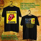 HITS STONES:NO FILTER WORLD TOUR 2017 BLACK TEE'S 2SIDE MAN WOMEN ASTR
