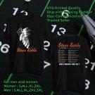 HITS STEVE EARLE & THE DUKES GUITAR TOWN 30TH TOUR 2017 BLACK TEE'S 2SIDE MAN WOMEN ASTR 554