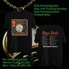 HITS STEVE EARLE & THE DUKES GUITAR TOWN 30TH TOUR 2017 BLACK TEE'S 2SIDE MAN WOMEN ASTR 112