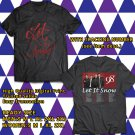 HITS 98 DEGREES CHRISTMAS TOUR 2017 BLACK TEE'S 2SIDE MAN WOMEN ASTR