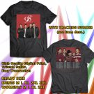 HITS 98 DEGREES CHRISTMAS TOUR 2017 BLACK TEE'S 2SIDE MAN WOMEN ASTR 554
