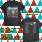 HITS JUSTIN MOORE HELL ON A HIGHWAY TOUR 2017/2018 BLACK TEE'S 2SIDE MAN WOMEN ASTR 776