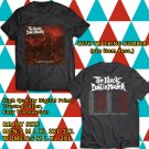 HITS THE BLACK DAHLIA MURDER NIGHTBRINGERS TOUR 2017 BLACK TEE'S 2SIDE MAN WOMEN ASTR
