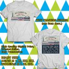 HITS ALL THINGS GO FALL CLASSIC MUSIC FESTIVAL OCT 2017 WHITE TEE'S 2SIDE MAN WOMEN ASTR