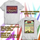 HITS BOURBON & BEYOND MUSIC FESTIVAL SEPT 2017 WHITE TEE'S 2SIDE MAN WOMEN ASTR 665