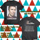 HITS LIAM GALLAGHER USA TOUR 2017 BLACK TEE'S 2SIDE MAN WOMEN ASTR 775