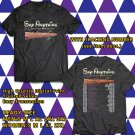 HITS SAY ANYTHING IN DEFENSE ANNIVERSARY TOUR 2017 BLACK TEE'S 2SIDE MAN WOMEN ASTR 887