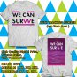 HITS WE CAN SURVIVE SHOW OCT 2017 WHITE TEE'S 2SIDE MAN WOMEN ASTR 665
