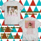 HITS KELSEA BALLERINI UNAPOLOGETICALLY TOUR 2018 WHITE TEE'S 2SIDE MAN WOMEN ASTR 887