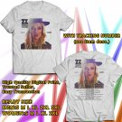 HITS ZZ WARD THE STORM TOUR 2018 WHITE TEE'S 2SIDE MAN WOMEN ASTR 887