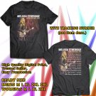 HITS MELISSA ETHERIDGE MERRY CHRISTMAS,BABY TOUR 2017 BLACK TEE'S 2SIDE MAN WOMEN ASTR