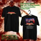 HITS DOKKEN TOUR 2017-2018 BLACK TEE'S 2SIDE MAN WOMEN ASTR 844