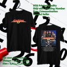 HITS DOKKEN TOUR 2017-2018 BLACK TEE'S 2SIDE MAN WOMEN ASTR 875