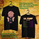 HITS LIL PUMP THE TOUR 2017 BLACK TEE'S 2SIDE MAN WOMEN ASTR 811