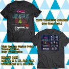 HITS Z100 NEW YORK JINGLE BALL ON DEC 2017 BLACK TEE'S 2SIDE MAN WOMEN ASTR 823