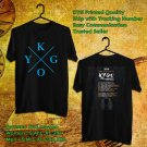 HITS KYGO KIDS IN LOVE TOUR 2018 BLACK TEE'S 2SIDE MAN WOMEN ASTR