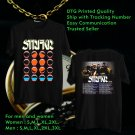 HITS STRFKR USA TOUR 2018 BLACK TEE'S 2SIDE MAN WOMEN ASTR 844