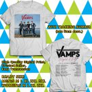 HITS THE VAMPS NIGHT AND DAY UK TOUR 2018 WHITE TEE'S 2SIDE MAN WOMEN ASTR