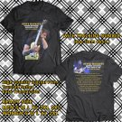 HITS STEVE HACKETT GENESIS REVISITED TOUR DE FORCE 2018 BLACK TEE'S 2SIDE MAN WOMEN ASTR