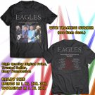 HITS EAGLES NORTH AMERICA TOUR 2018 BLACK TEE'S 2SIDE MAN WOMEN ASTR 998