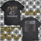 HITS FOREIGNER ON NORTH AMERICA TOUR 2018 BLACK TEE'S 2SIDE MAN WOMEN ASTR 887