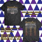 HITS HAMMERFALL REBUILT TO TOUR 2018 BLACK TEE'S 2SIDE MAN WOMEN ASTR