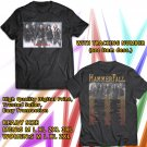 HITS HAMMERFALL REBUILT TO TOUR 2018 BLACK TEE'S 2SIDE MAN WOMEN ASTR 443
