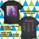 HITS LORDE MELODRAMA N.AMERICA TOUR 2018 BLACK TEE'S 2SIDE MAN WOMEN ASTR 665