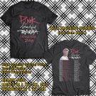 HITS PINK BEAUTIFUL TRAUMA N.AMERICA TOUR 2018 BLACK TEE'S 2SIDE MAN WOMEN ASTR