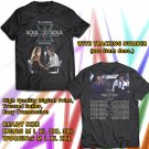 HITS TIM McGRAW AND FAITH HILL SOUL2SOUL N.AMERICA TOUR 2018 BLACK TEE'S 2SIDE MAN WOMEN ASTR