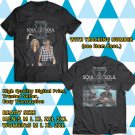 HITS TIM McGRAW AND FAITH HILL SOUL2SOUL N.AMERICA TOUR 2018 BLACK TEE'S 2SIDE MAN WOMEN ASTR 776