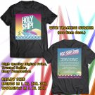 HITS HOLY SHIP! FESTIVAL 2018 BLACK TEE'S 2SIDE MAN WOMEN ASTR 776