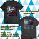 HITS JEFF LYNNE'S ELO N.AMERICA TOUR 2018 BLACK TEE'S 2SIDE MAN WOMEN ASTR 771